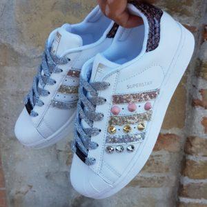 Adidas Donna Personalizzata Borchie