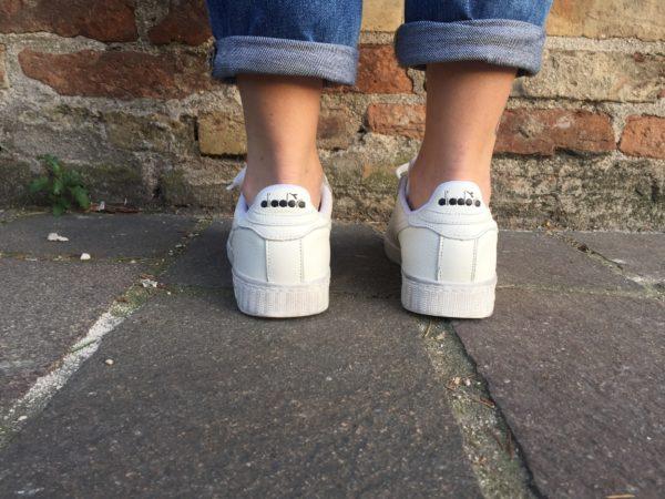 Diadora Game L Low Waxed C6180 Sneaker Bianca