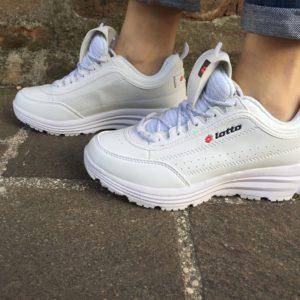 Lotto sneaker donna bianco memory foam 212815
