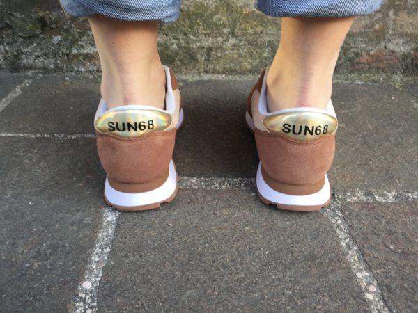 Sun68 scarpa donna running adult ally thin glitter z30203 43 Oro Glitter