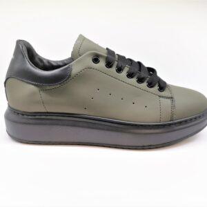 exton uomo sneaker verde militare 955