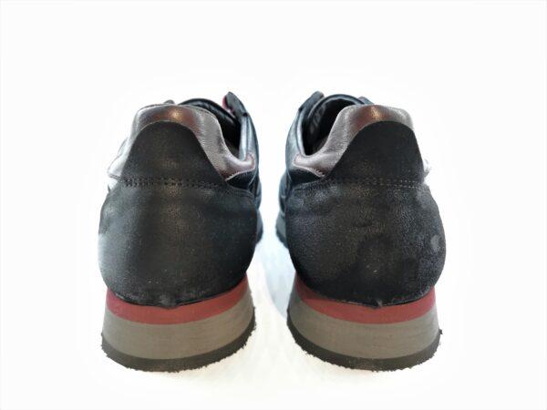 Exton sneaker uomo 591 nero e rosso