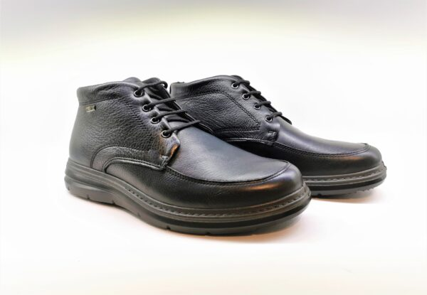 imac scarpa comfort uomo pelle nero 601379