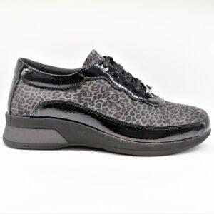 sabatini scarpa comfort donna glitter nero fantasia S2961
