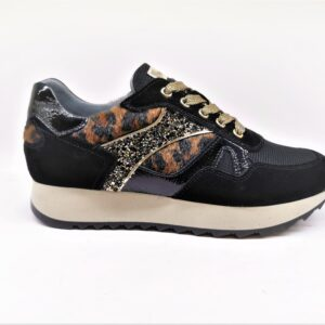 nero giardini sneakers donna pelle nero alimaler i013193d