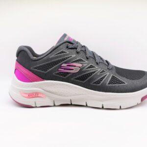 skechers sneakers donna grigio 149411/CCPK