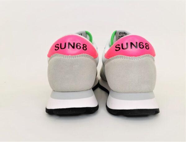 sun68 scarpa running donna bianco e rosa
