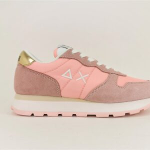 sun68 scarpa sneakers donna rosa running