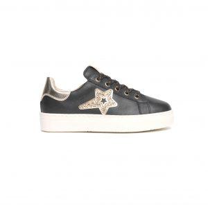Sneakers Nero Giardini da ragazza teens made in Italy