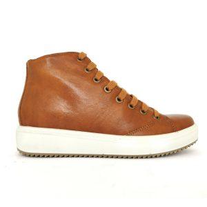 Imac sneakers da donna cognac marrone.Nuova collezione autunno inverno.